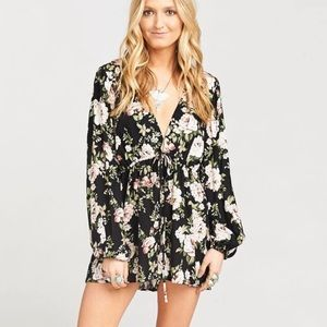 Show Me Your Mumu Zoe Courtney Loves Roses Romper